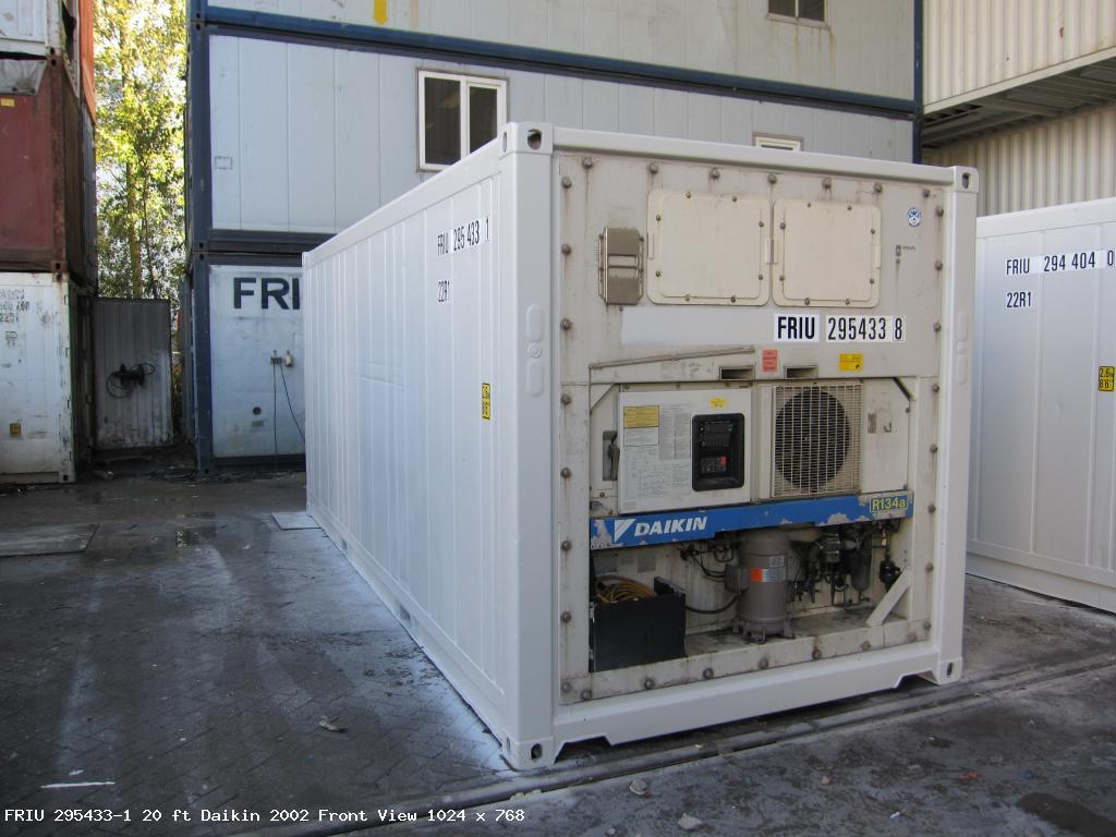 20 ft 8`6 REEFER - Reefercontainer, Reefercontainers, Reefer Container -  Fricon Reefer Sales